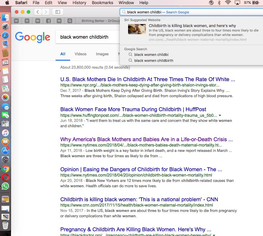 GoogleBlackWomenPregnant
